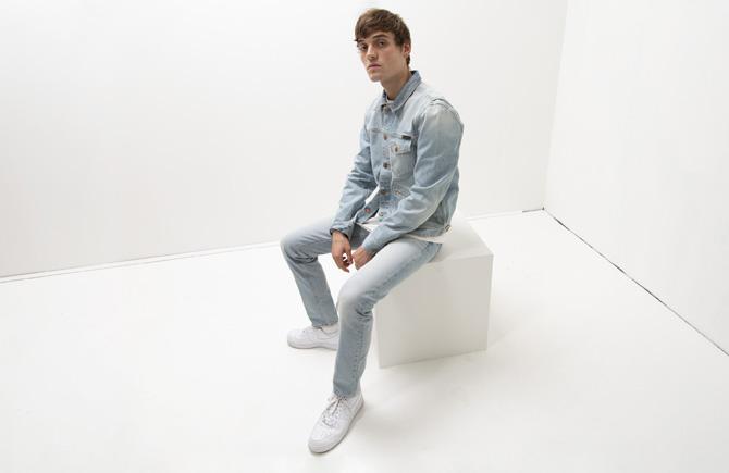paletti Teaser Mode für Männer Nudie Jeans Spring 2019